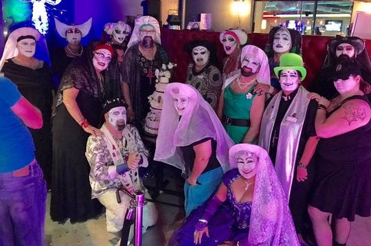 The Palm Springs Sisters of Perpetual Indulgence will hold a gala fundraiser on Oct. 6, 2019.