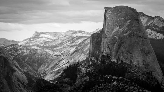 Climbers flock to Yosemite National Park to scale different routes on Half Dome.