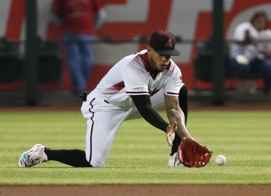"""Ketel Marte on Chase Field's playing surface: """"The artificial turf took a toll on me and I just been dealing with for the past couple months."""""""