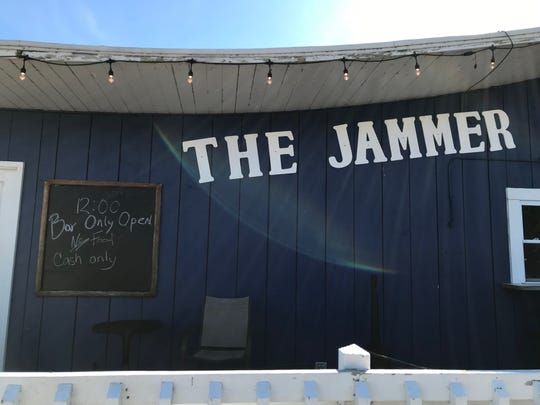 The Windjammer restaurant had its bar back open, but not its kitchen, in Lexington on Saturday, Sept. 14.