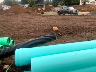 What's happening on Madrona Ave. near 12th Street?