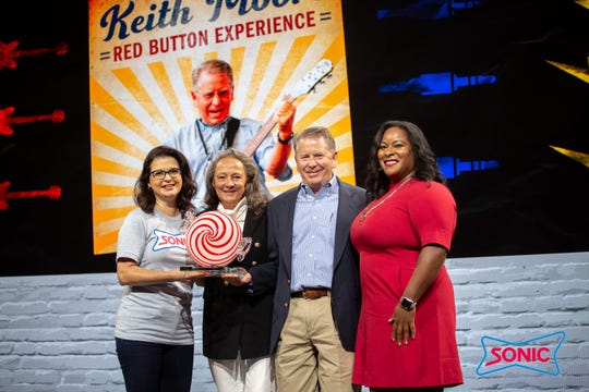 The Red Button Experience Award was presented to Keith Moore, of MHR/Moore Sonics, for his leadership style focused on delivering the best experience for his team members and guests.
