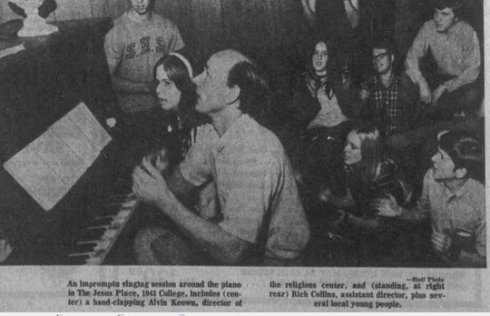 """In May of 1971, the building was called """"The Jesus Place,"""" according to a news story written by Mike O'Brien, former News-Leader columnist."""