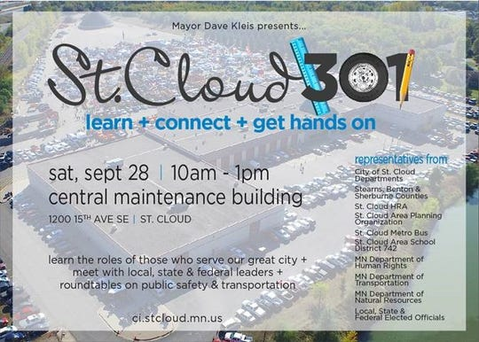 St. Cloud 301 is the third in a series of educational events organized by the city of St. Cloud to better engage residents with local officials and government programs.