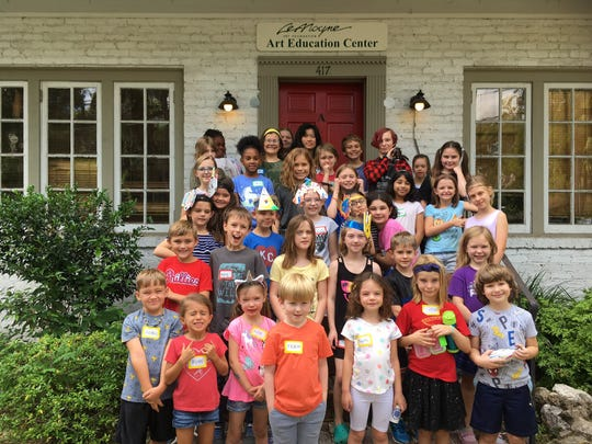 Summer Art Camp at the revamped LeMoyne Arts.