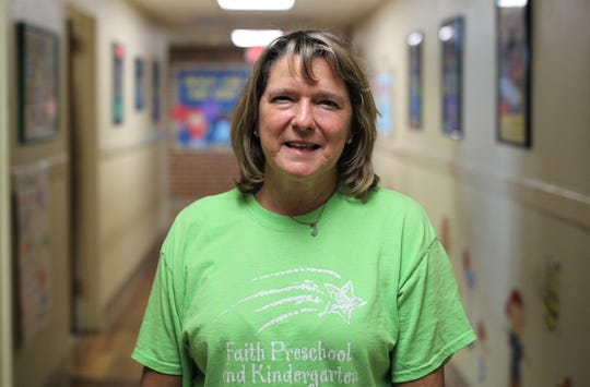 Molly Williams, a 3-year-olds teacher for 17 years at Faith Preschool, poses for a portrait. The school, on the corner of John Knox Road and Meridian Road, celebrated its 60th anniversary over the weekend of Sept. 20-22, 2019.
