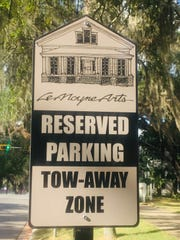 To alleviate the challenges of downtown parking, two free LeMoyne visitor-parking places were placed on Gadsden for LeMoyne visitors.
