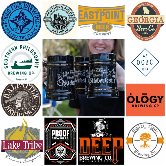 A range of craft  brewers are participating in this year's Elder Care Oktoberfest on Oct. 18.
