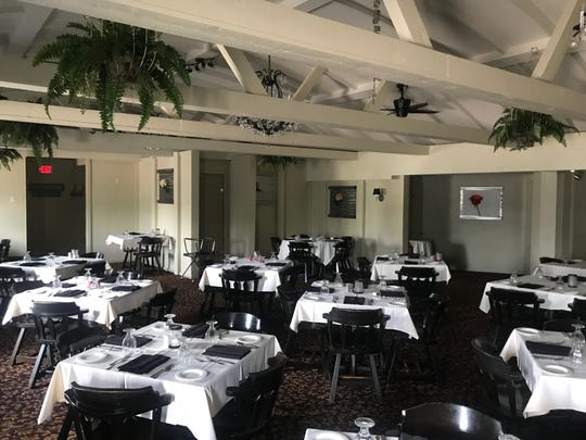 The dining room at Michael's Supper Club in Rib Mountain. The restaurant will close on Sept. 28, 2019 as one of the owners plans to open a new restaurant in downtown Wausau.