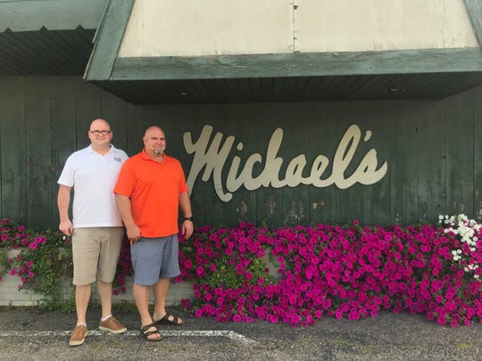 Brothers Bill, left, and Adam, right, Jamgochian own Michael's Supper Club at 2901 Rib Mountain Drive in Rib Mountain. The supper club will close on Sept. 28, 2019 as Adam plans to open a new restaurant in downtown Wausau.