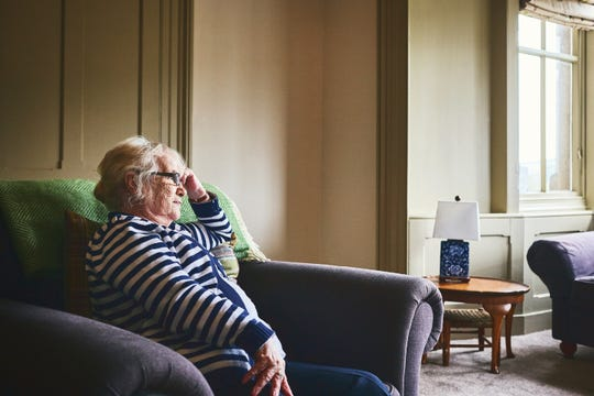 """Senior loneliness has been described as an """"epidemic."""""""