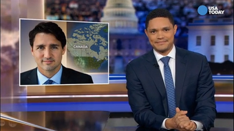 The late-night comics talk about the Canadian prime minister and race in Best of Late Night