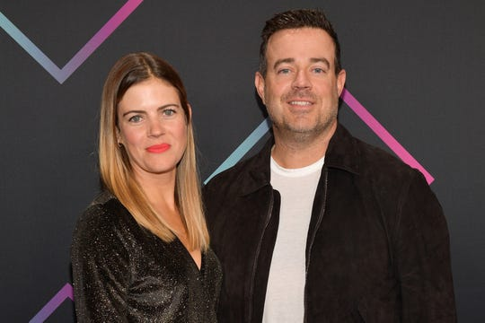 """""""Today"""" show host Carson Daly announced on that he and his wife Siri Pinter are expecting their fourth child."""