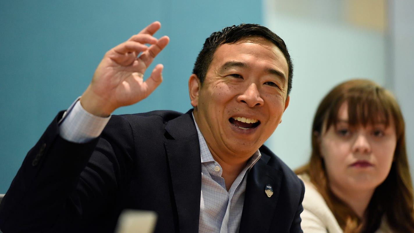 Andrew Yang: Being the free-money guy won't hurt me