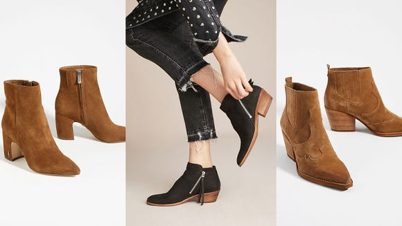 Booties are essential for the fall season.