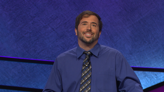 'Jeopardy!' champ Jason Zuffranieri becomes third contestant ever to earn $500K