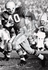 "Howard ""Hopalong"" Cassady, shown in this undated file photo, won the Heisman Trophy in 1955."