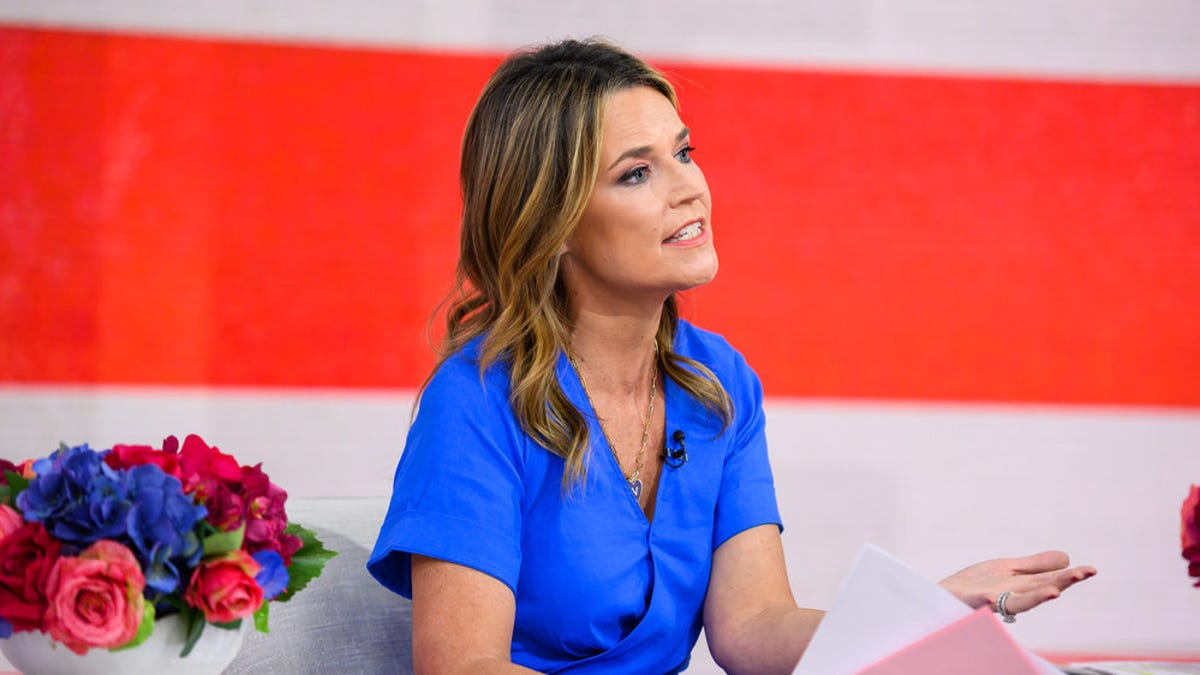 Today Show Savannah Guthrie Reveals Misery Of Pneumonia Diagnosis