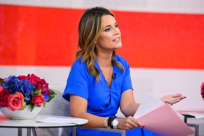 Today Show Savannah Guthrie Reveals Misery Of Pneumonia Diagnosis
