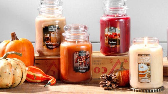 Big autumn energy in a jar? That's what these candles are.