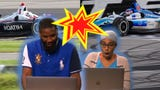 People who have never watched Indycar before, react to the top wrecks and wins!