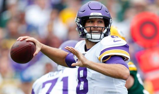 Minnesota Vikings quarterback Kirk Cousins had 32 pass attempts in Week 2.