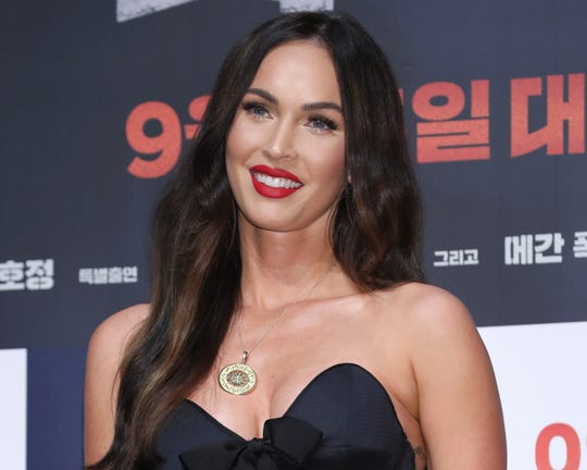 Actress Megan Fox talked about her son's love of fashion and teaching him to be confident in it.