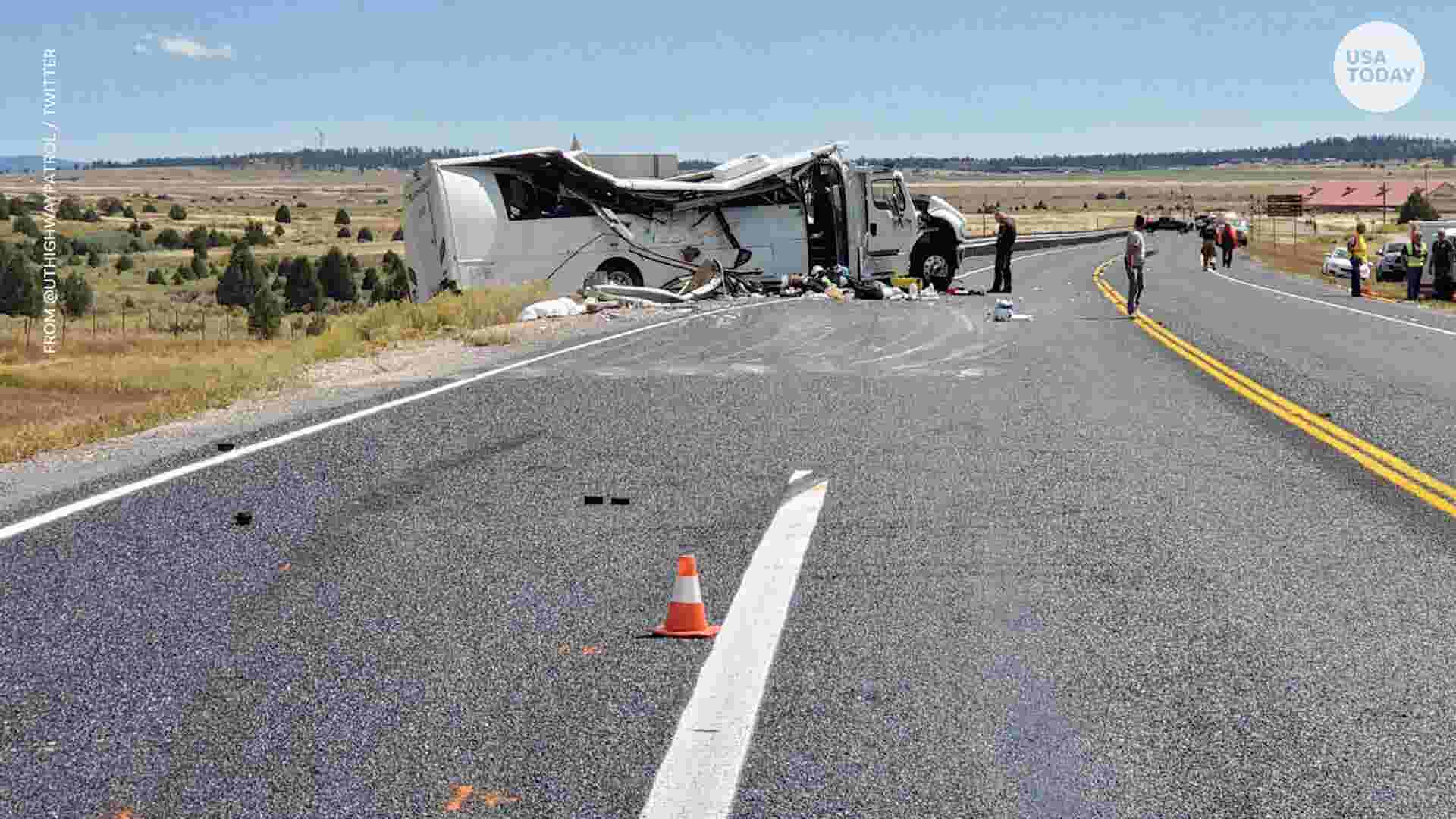 Bryce Canyon tour bus crash in Utah: What we know now