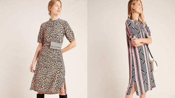 Keep your fall fierce with these patterned dresses.