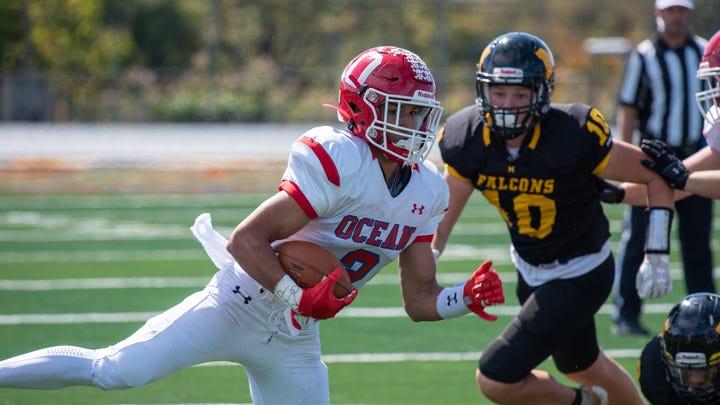 NJ Football: Trebor Pena, a Temple University commit, powers Ocean to big win