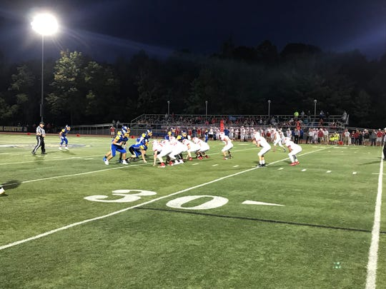 Action from Waverly vs. Maine-Endwell football, Sept. 20, 2019.