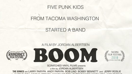 """""""BOOM, a Film About the Sonics,"""" will be screened twice during the Sept. 26-29 Gig Harbor Film Festival."""