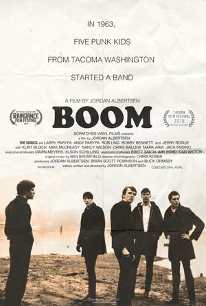 """BOOM, a Film About the Sonics,"" will be screened twice during the Sept. 26-29 Gig Harbor Film Festival."