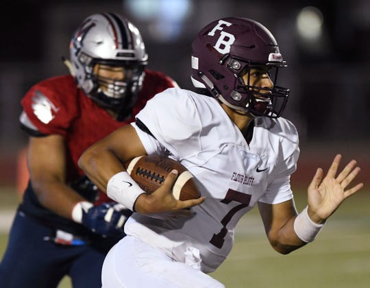 Veterans Memorial High School faces Flour Bluff in a 15-5A division I, Friday, Sept. 20, 2019, at Cabaniss Stadium.