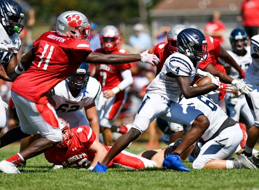 South Jersey football: St. Augustine manhandles St. Joseph up front in 28-12 triumph