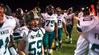 Watch highlights of Fort Knox's first high school football win against Fort Campbell since 2002.