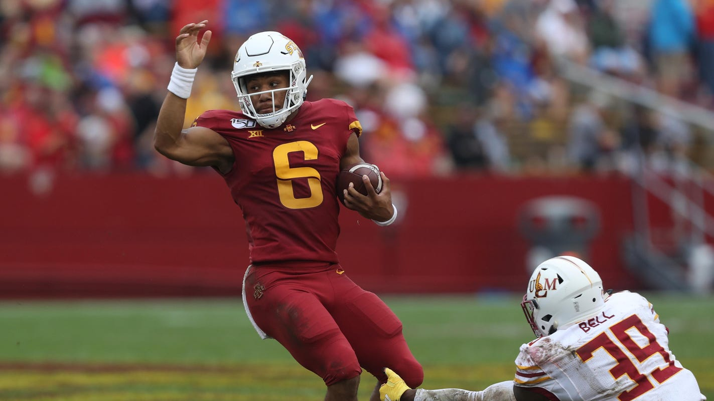 QB Re-al Mitchell enters transfer portal, says he has 'no regrets about coming to Iowa State'