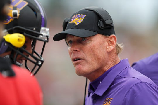 Mark Farley and the Northern Iowa Panthers are 2-1 after beating Idaho State Saturday.