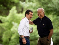 Joe Biden calls Pete Buttigieg 'a good man' for defending the Biden family