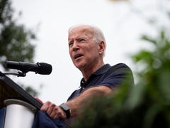 'Trump sold them out': Joe Biden hits the president over Syria troop withdrawal