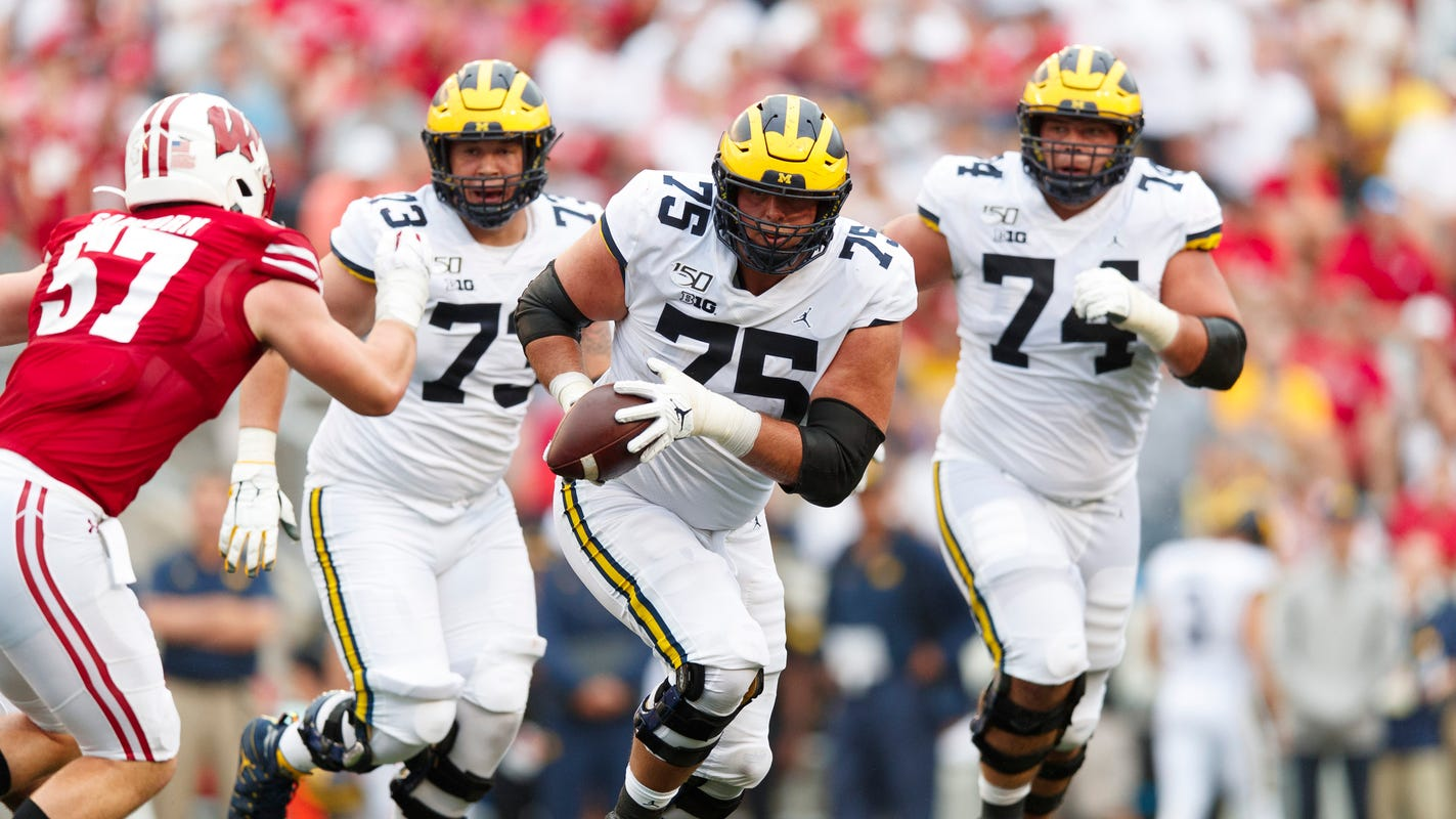 Michigan football lands 6 offensive players on All-Big Ten teams: The full list