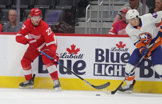 The Detroit Red Wings hoped Michael Rasmussen would have a standout year in Grand Rapids this season, but injuries have hampered his development.