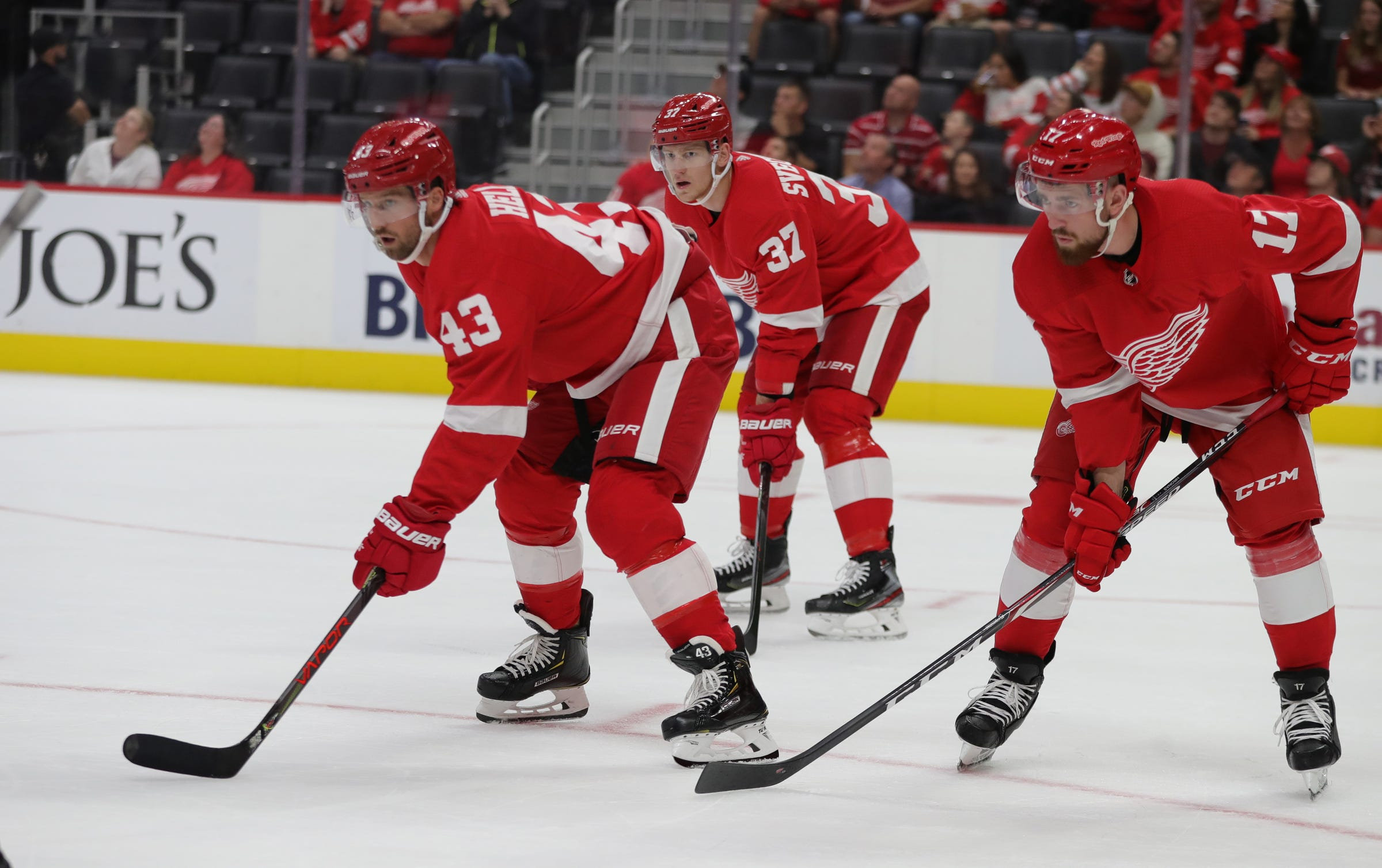 Projecting the Detroit Red Wings' opening night lineup, version 2.0