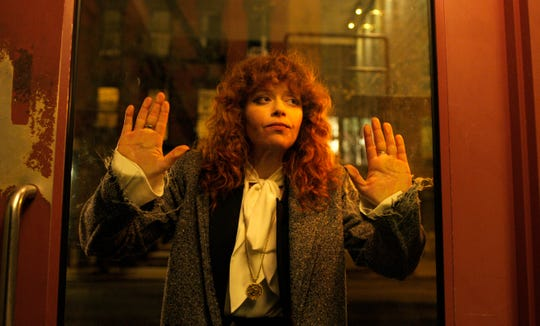 """This image released by Netflix shows Natasha Lyonne in a scene from """"Russian Doll."""" The program, created by  Leslye Headland, Natasha Lyonne, Amy Poehler is nominated for an Emmy Award for outstanding comedy series."""