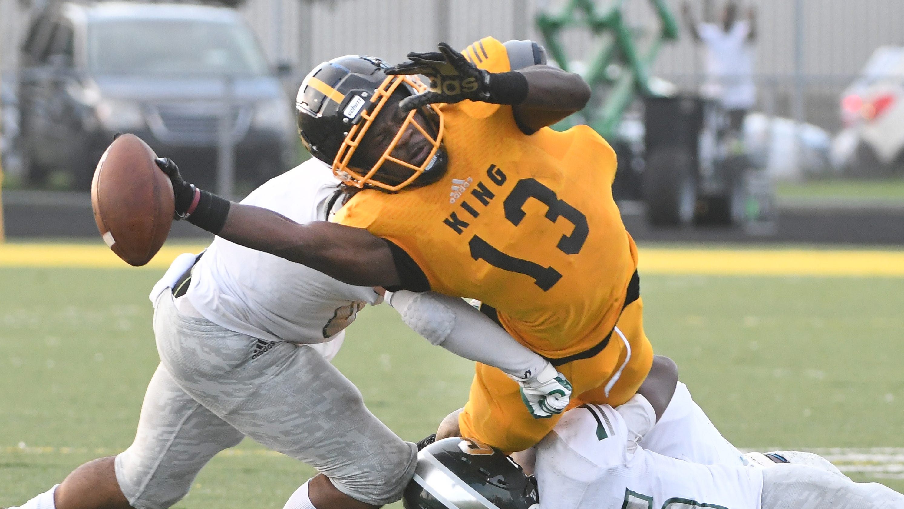 Friday's prep football: Detroit King, Dante Moore too much for Cass Tech - The Detroit News