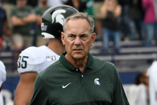 Michigan State head coach Mark Dantonio