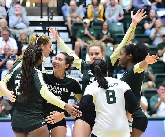 Colorado State volleyball pulls out tough 5-set match at Boise State for 16th straight win