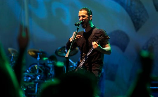Godsmack performs on Sept. 20, 2919, at the Resch Center in Ashwaubenon, Wis.