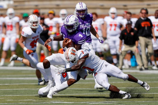 Furman hosted Mercer in a Southern Conference matchup on Saturday, Sept. 21, 2019.