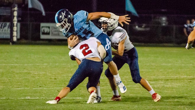 Ascension Episcopal's Asa Freeman compiled 181 yards on 24 carries Friday against North Vermilion.